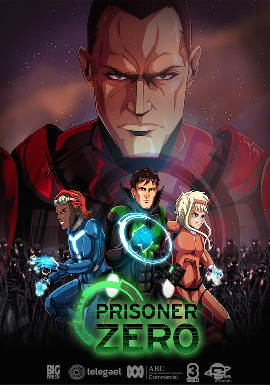 PRISONER ZERO - Prisoner Zero is a fast-paced, animated sci-fi, action-adventure series following the exploits of teen heroes, Tag and Gem, and their mysterious friend Prisoner Zero. The series follows our heroes as they journey across the cosmos in the spaceship Rogue to battle the evil Imperium.Year 2016Duration 26 x 22 minsProduction Partners Planet 55Telegael, Bramall ProductionsGenre Science Fiction Action Adventure