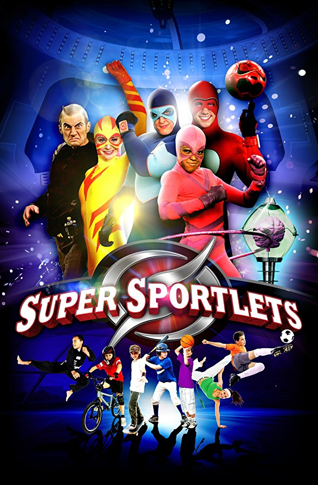 SUPER SPORTLETS - Super Sportlets, an intriguing mix of live action and state-of-the-art CGI environments and special effects, features four young, college-aged aliens from the planet Sportus who pursue bad guy Rudy Rude, to Earth to stop him from robbing Earth kids of their energy and turning them into video game playing, junk food eating coach potatoes. The four sporting superheroes, Athletica, Ballistico, Charm and Strongo, appear as normal humans in their ultra-modern gymnasium, a place where kids can practice and improve their various sporting skills.Year 2010Duration 26 x 13 minutesExecutive Producer Mike Young, Liz Young, Volkert Struycken, Stan Adam, Nicolas Atlan, Paul CumminsProducer Siobhán Ní GhadhraDirector Jeffrey Nodelman