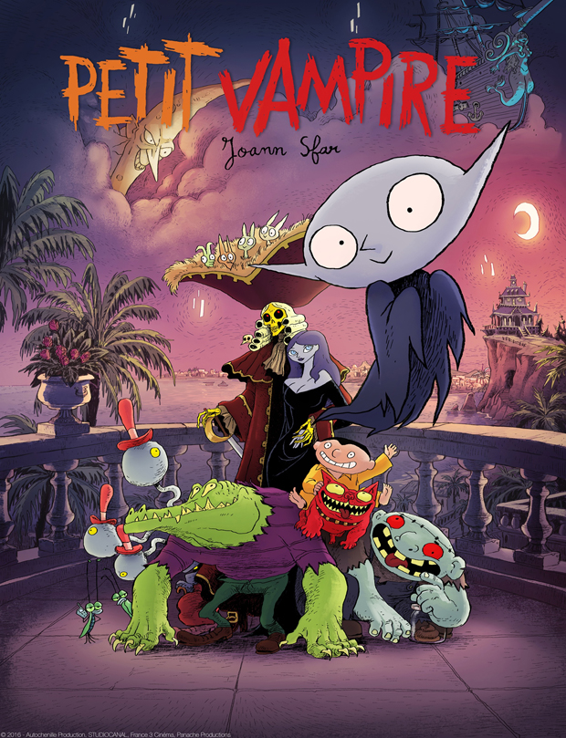 LITTLE VAMPIRE - Michael is a little orphan who lives a carefree life with his grandparents. By day he goes to school. But at night he hangs out with Little Vampire, a friendly nocturnal creature, and his monster friends in his haunted house. Little Vampire would love to be a real living boy like his pal Michael. Both are enchanted by the others existence and enjoy discovering their alternative worlds.Year 2004 - 2005Duration 52 x 13 minutesExecutive Producer Paul Cummins, Maia Tubiana, Bernard DeyriasProducer Siobhán Ní Ghadhra, Marie-Pierre Journet.Director Gilles Deyries, Christian ChoquetProduction Partners France AnimationDistributor Ireland TelegaelSeries Broadcasters France 3Genre Children's Animation