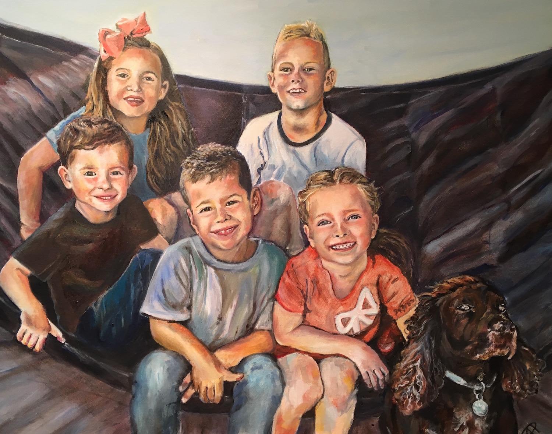 NS commissioned portrait