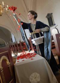Marsk Stigs begravelse i Stubberup kirke