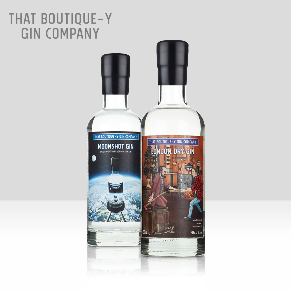 That Boutique-y Gin Company   The world's first independent gin bottler launched in 2017, with a mission to continually release exciting and excellent gins. Globally awarded and recognised, TBGC is a torchbearer for innovation and quality in gin.   Find out more here...
