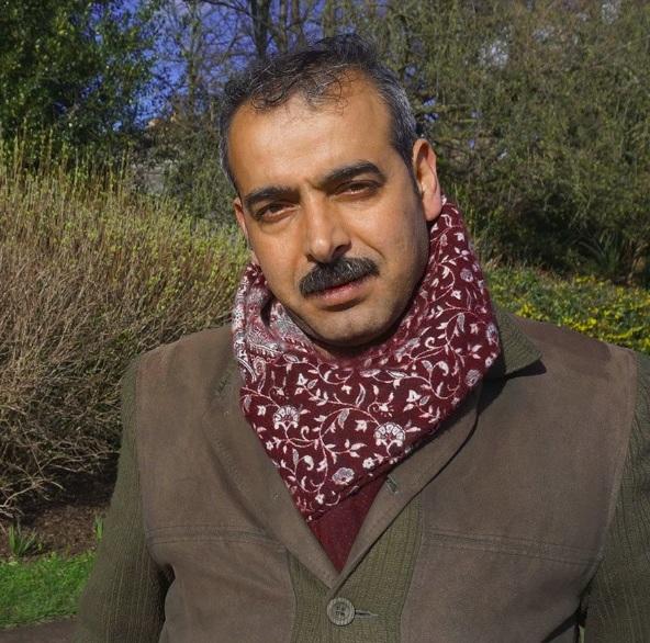 Khaled had his first UK job at Breadwinners Victoria Park Market Stall