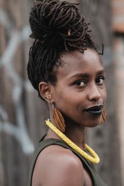 """Mwende """"FreeQuency"""" Katwiwa  Photo by Paa Yanfu Kwesi"""