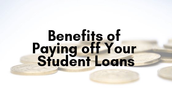 This section is going to talk about the benefits of paying off your nursing school loans. Reduced stress anxiety and so forth.