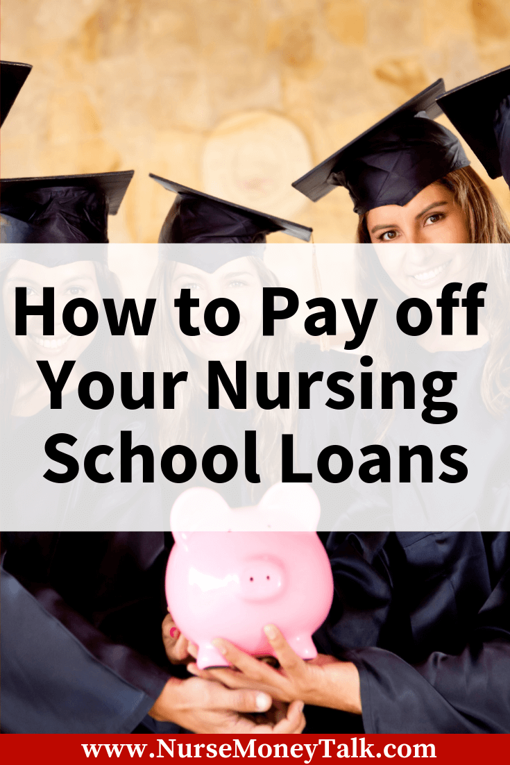 This article is going to show you how to get control of your nursing school loans. #rn #lpn #aprn