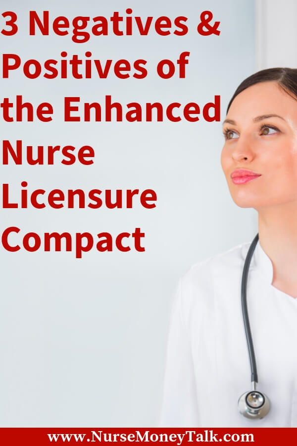 Find out how the enhanced nurse licensure compact effects you and your nursing career. #rn #nurse