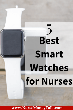 This article is talking about the best smartwatches for nurses.