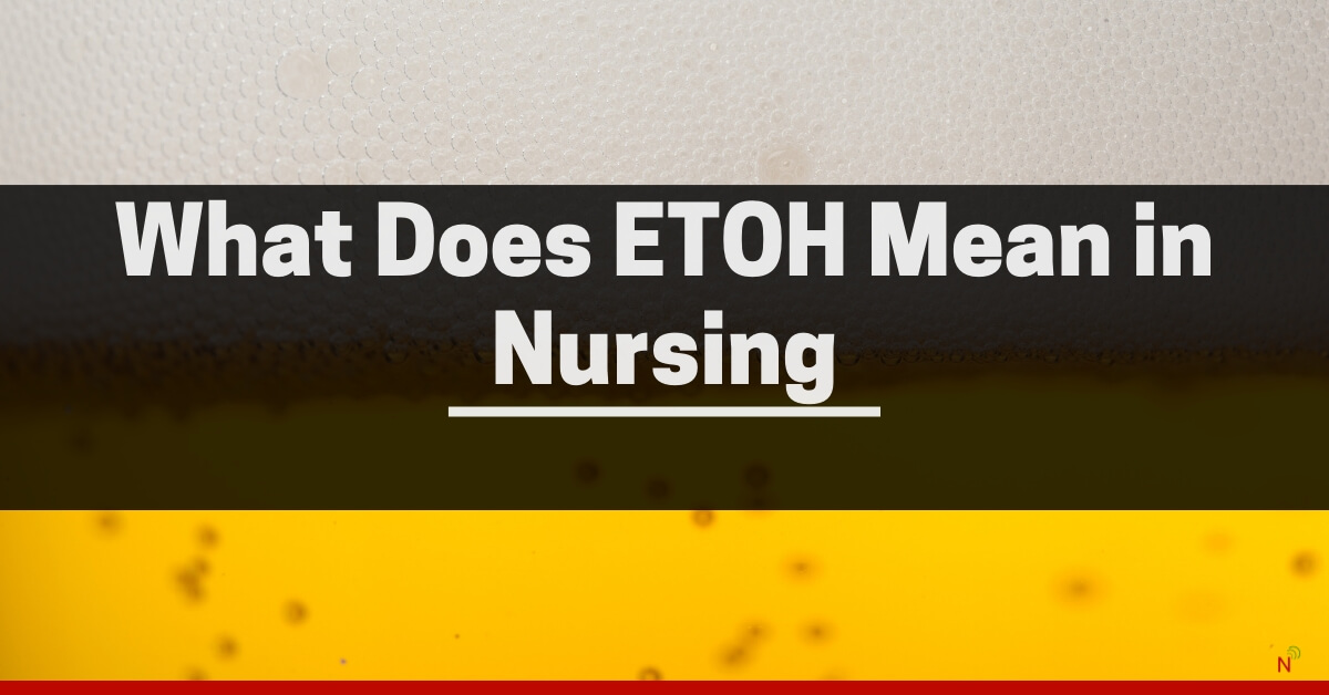 """The answer to the question """"what does EToH mean in nursing."""