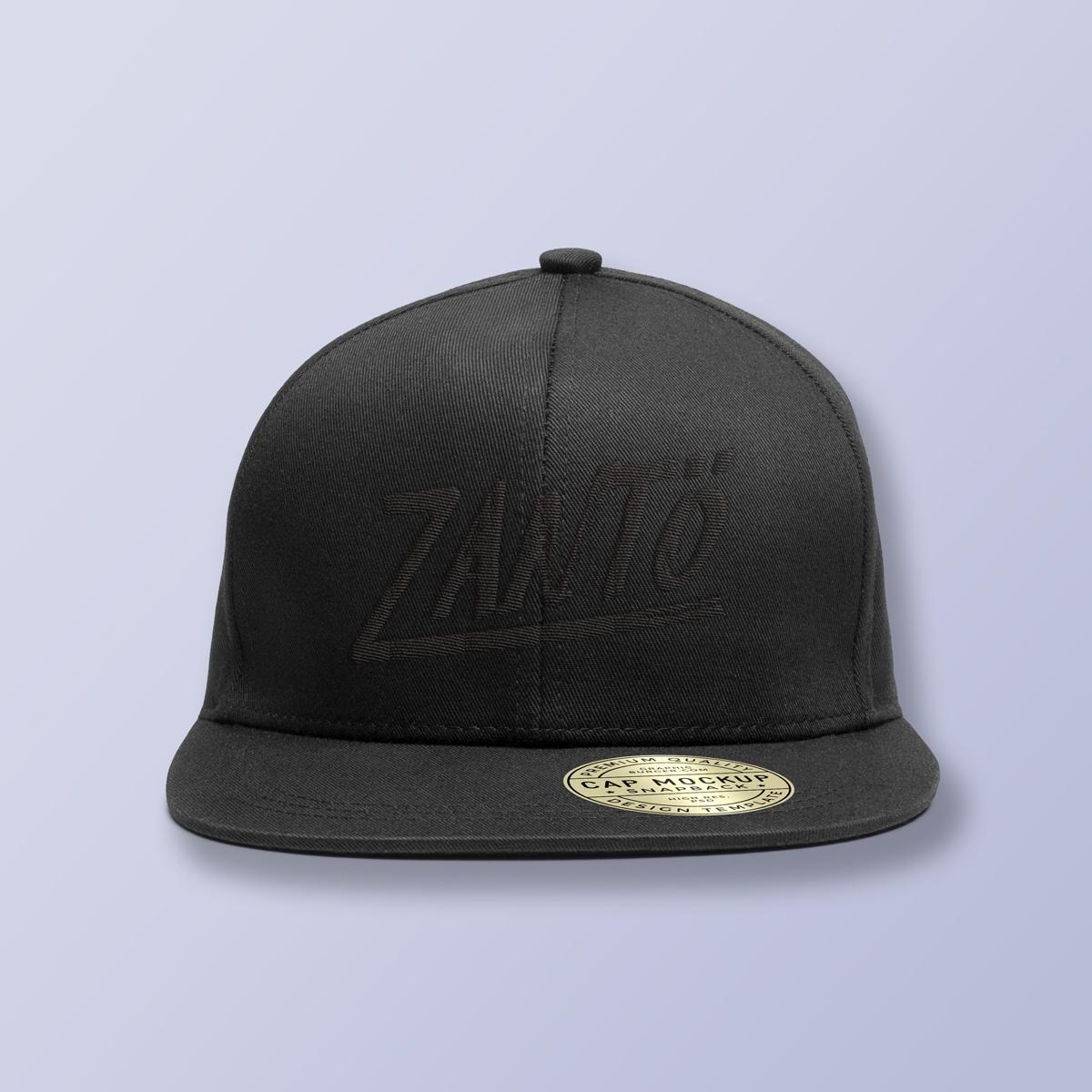 Zantö Cap / Black ¥3,500