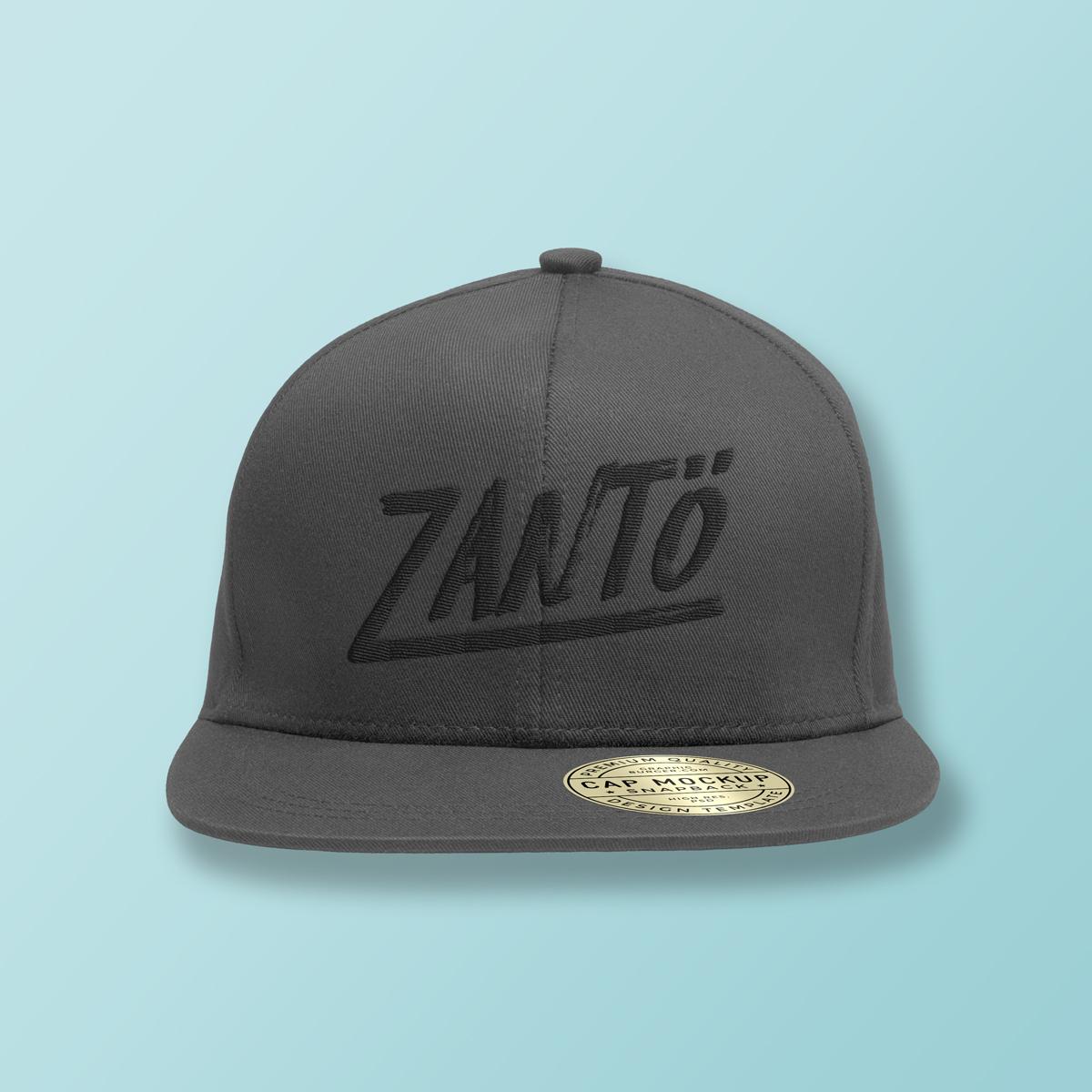 Zantö Cap / Gray ¥3,500