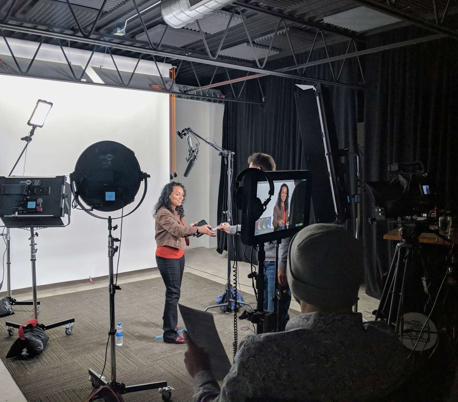 photo / video studio - Because stock footage just won't do. Our studio is great for product photography, filming a tutorial, or getting the perfect portrait. Members of The Keep receive a discount on booking.