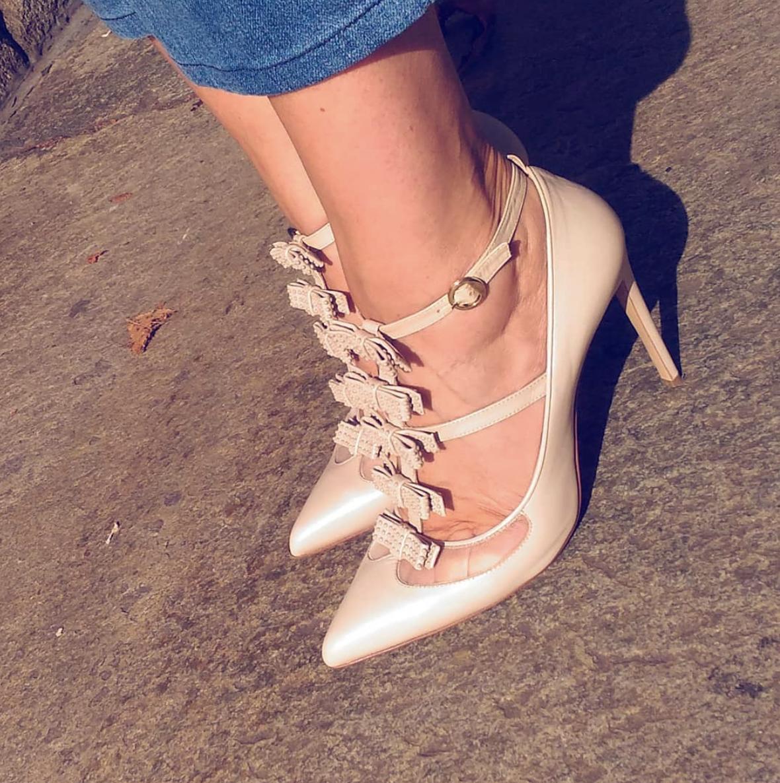 @mitsouko_   Vous les avez aimées, je vous les montre de plus près...Phoebe de  @biondacastana   #biondacastana   #girlsinbc   @iamnataliabarbieri   #shoes   #shoescrush   #instashoes   #souliers   #escarpins   #decollete
