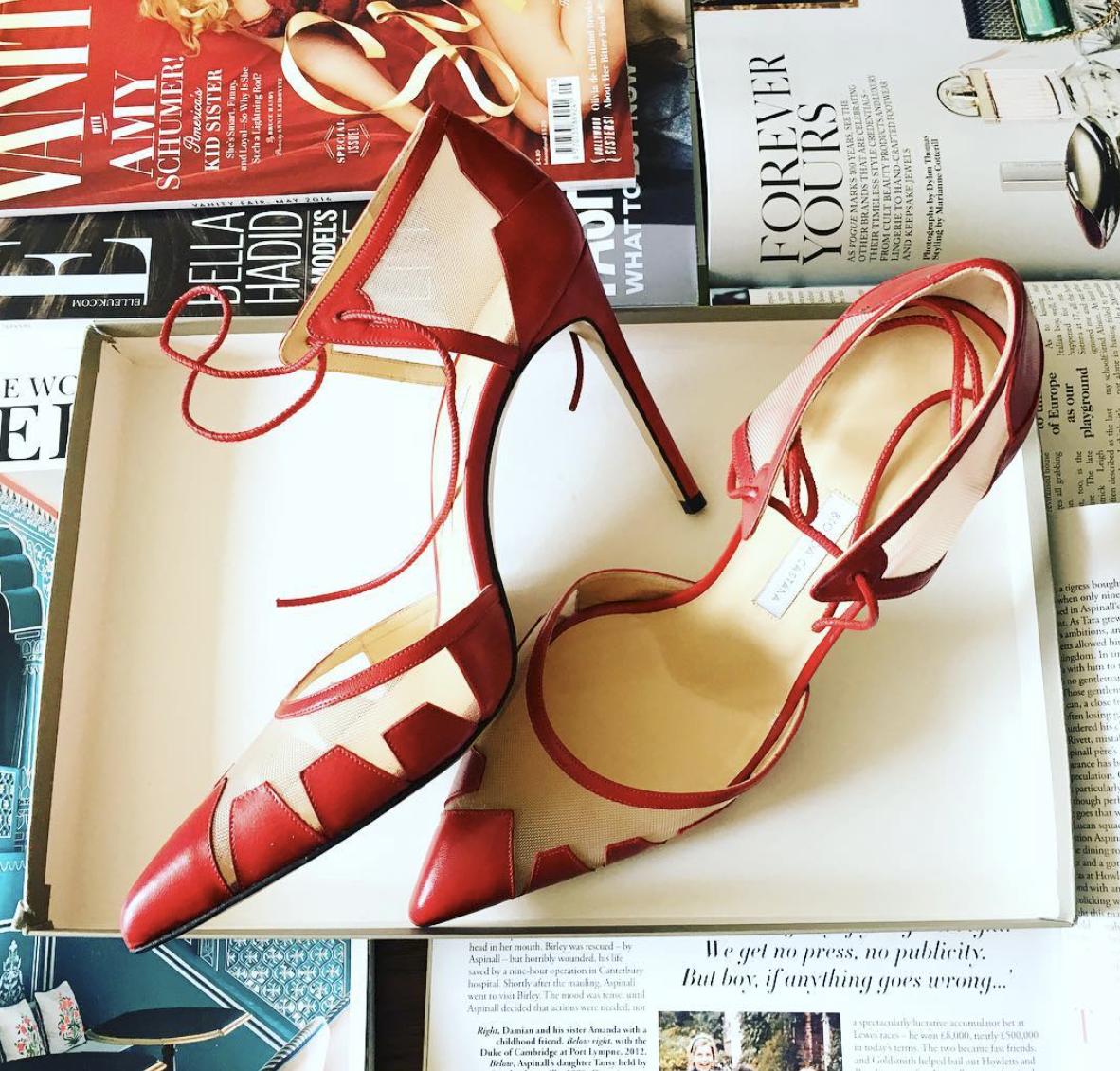 @ lolalizzyb   Some like it hot 🔥  #shoesday  #girlinbc   #biondacastana   #redhot   #scorchio   #summer   #shoesoftheday   #stylediaries   #london