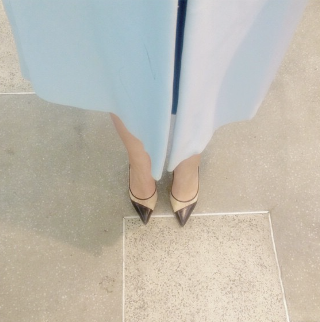 @ saharsanjar   view from the top.  #aboutlastnight   @OsmanStudio  coat.  @BiondaCastana  heels.  #girlinbc  #saharscloset