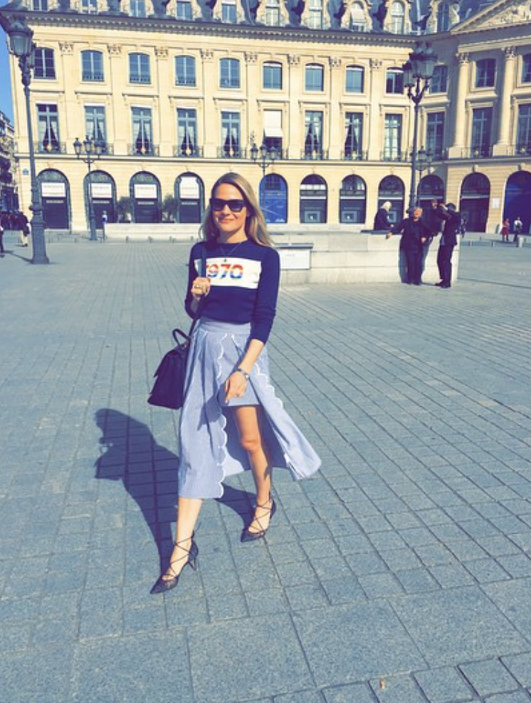 @ ecmullaney    #Goodnight   #paris  thanks for an amazing  #sunny   #sunday  😎🇫🇷👊🌞