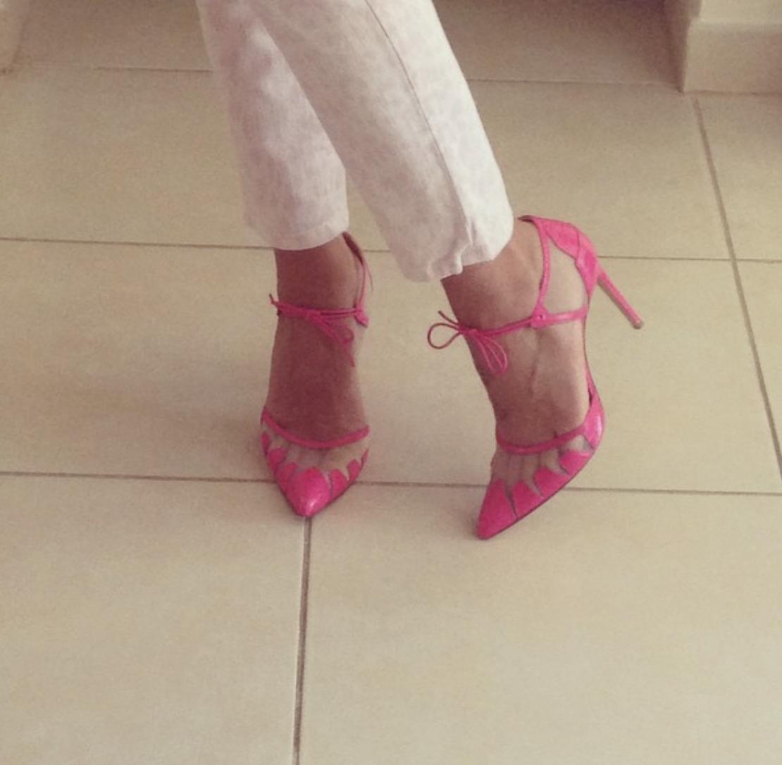 @ _mylifeinthesandpit_   Shoes of the day  @biondacastana   #biondacastana   #girlinbc  #fashion  shoelover  #currentelliot  🎀💖
