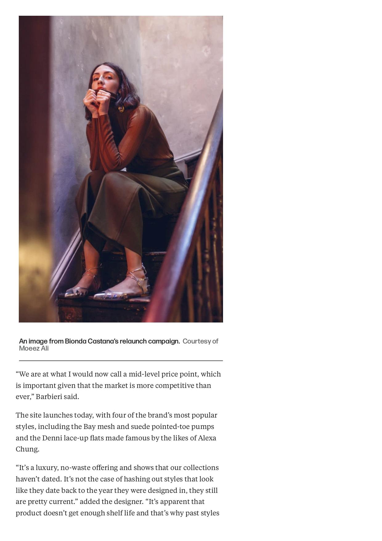Bionda Castana Returns With Renewed Vision – WWD -4.jpg