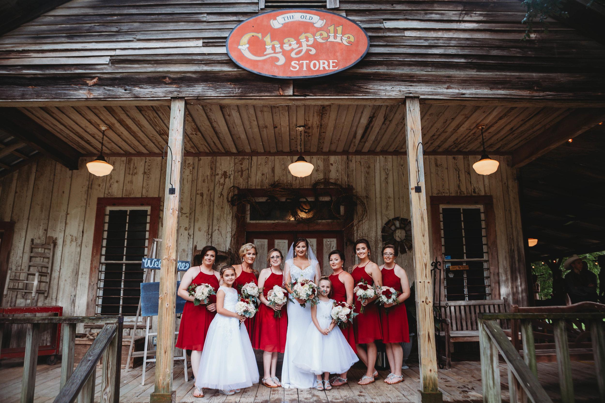 Bridesmaids at Cypress Grove
