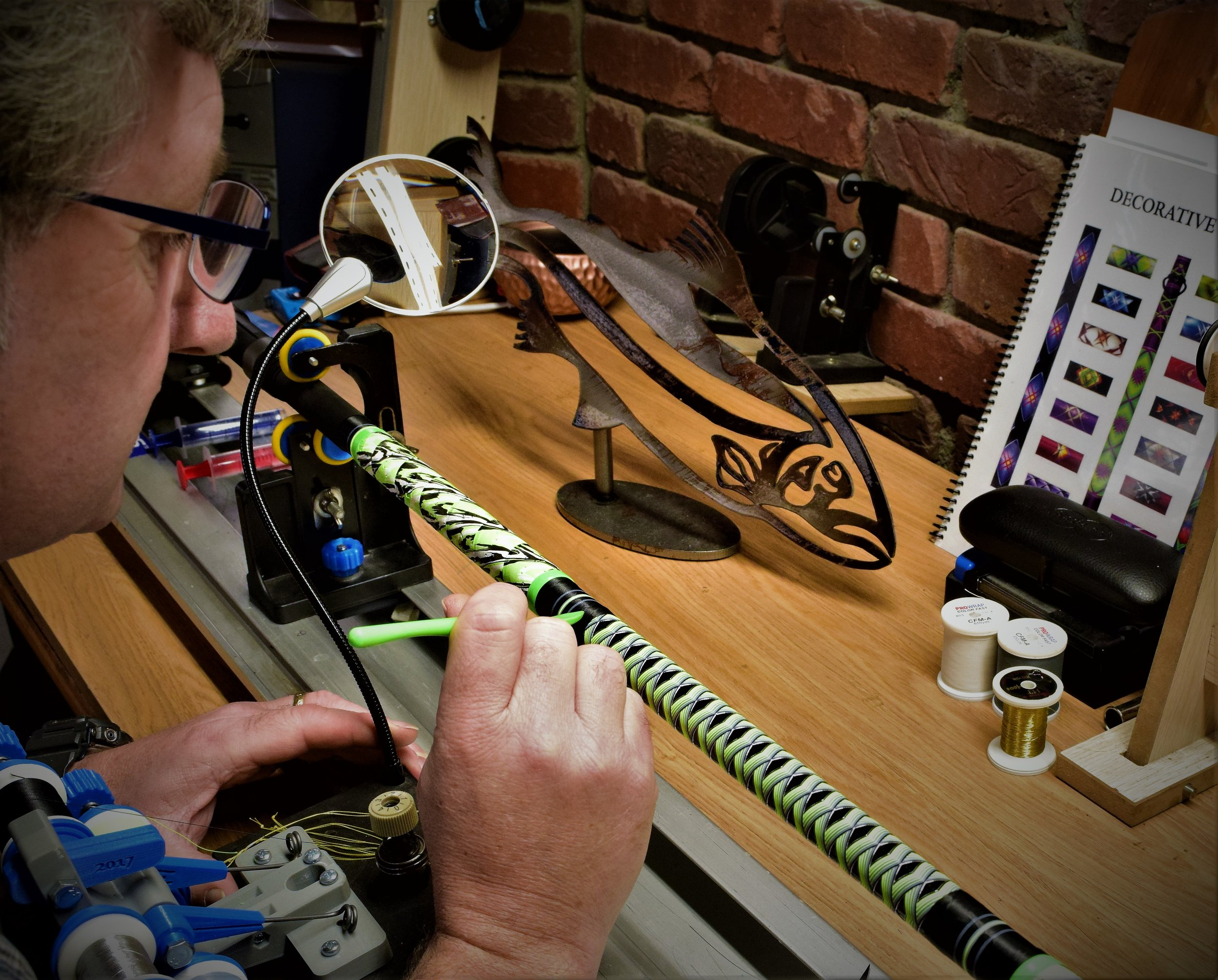 Mike's Custom Rods - Over 10 years experience in custom rod building...