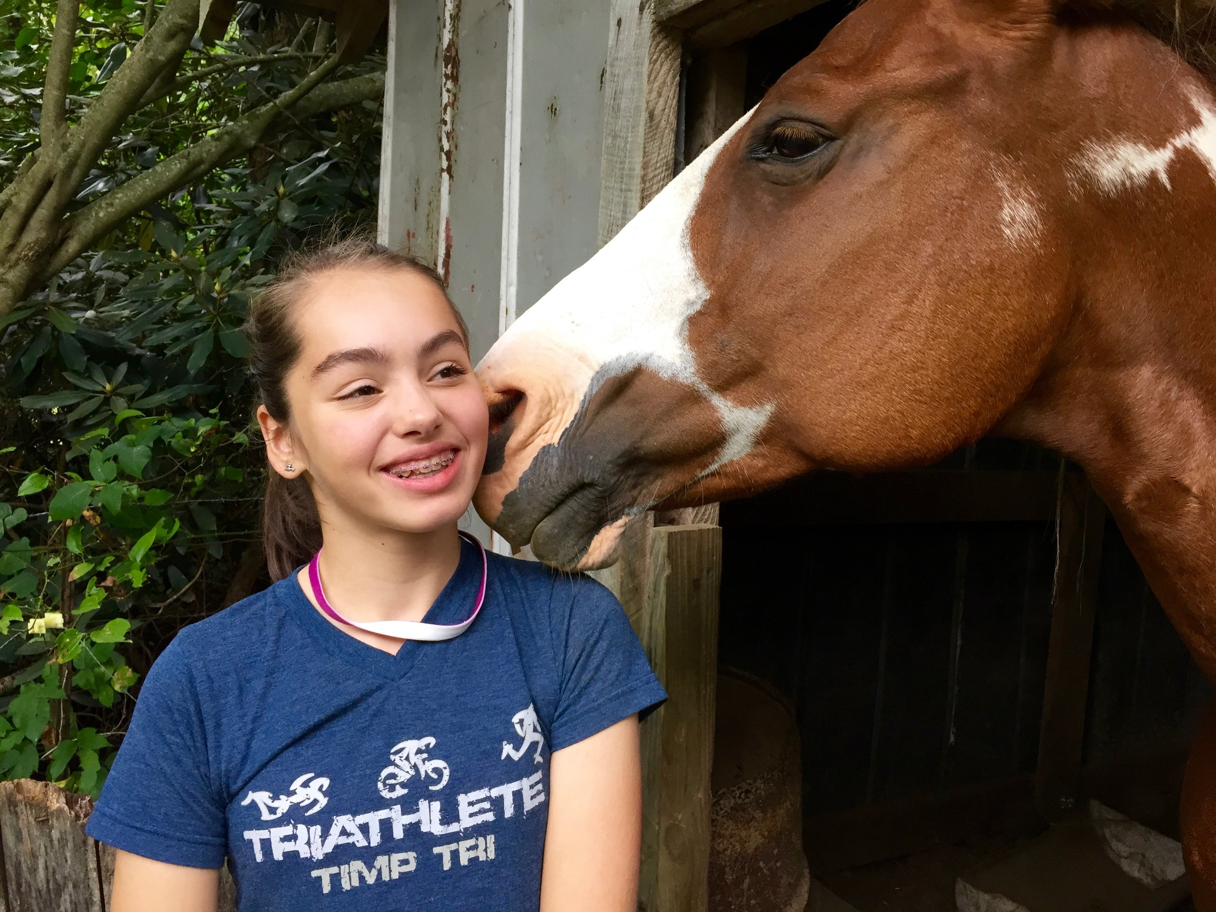 Copy of Our equine arts program offers horse-centered riding, groundwork and care skills