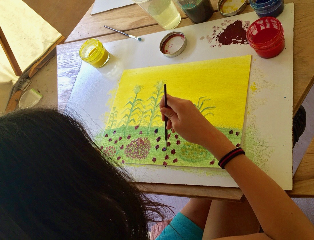 An arts integrated curriculum brings forth the native creativity that lives in each learner