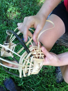 Basketry develops fine motor skills and creates a beautiful and functional product of learning