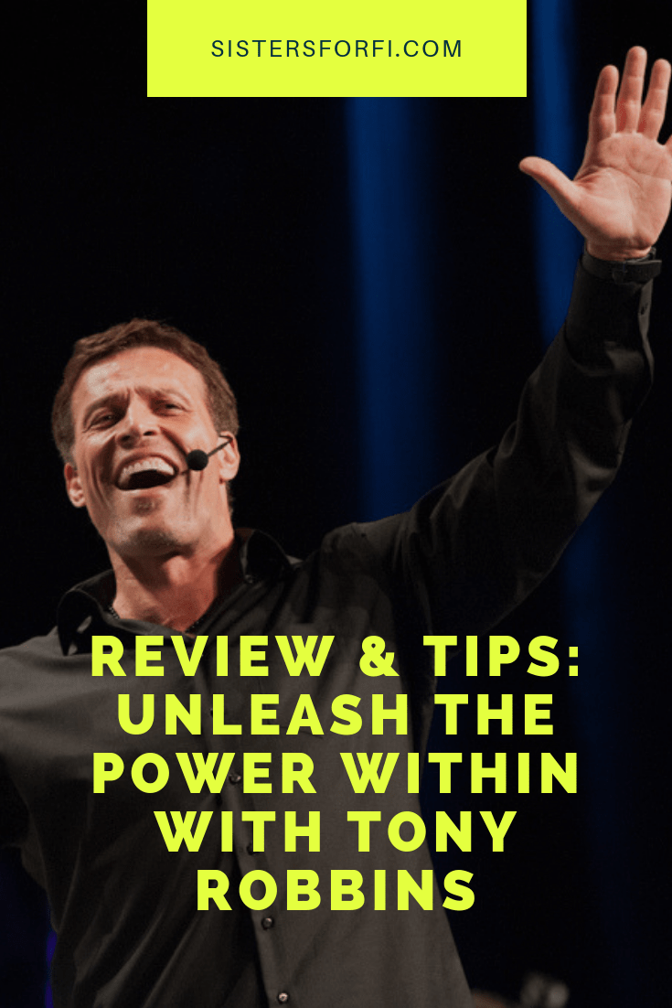 Review & Tips: Unleash the Power Within (UPW) with Tony Robbins