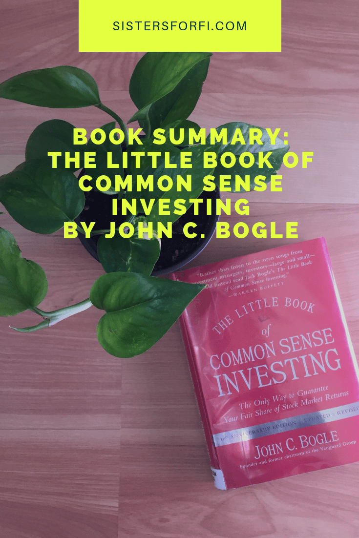 Book Summary: The Little Book of Common Sense Investing