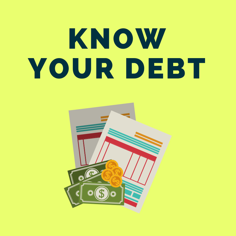 12 Step Guide to Getting Your Finances in Order: Know and Have a Plan of Action for Your Debt