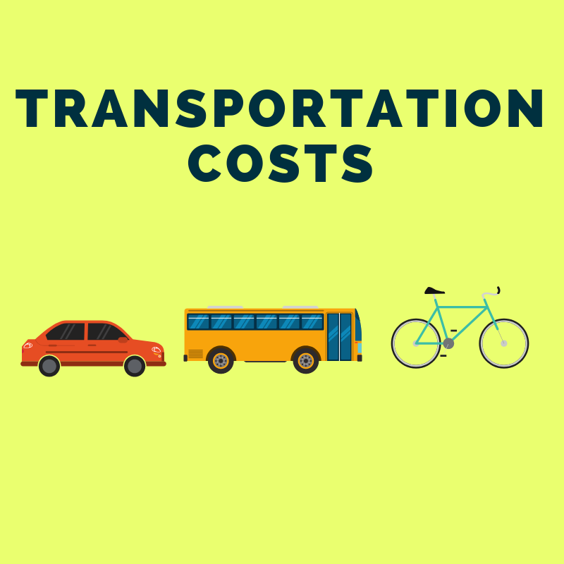 12 Step Guide to Getting Your Finances in Order: Reduce Transportation Costs