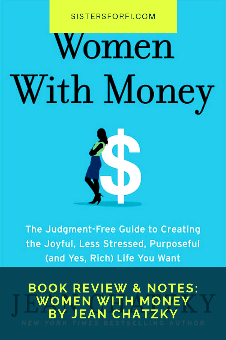 Book Review & Notes: Women With Money by Jean Chatzky