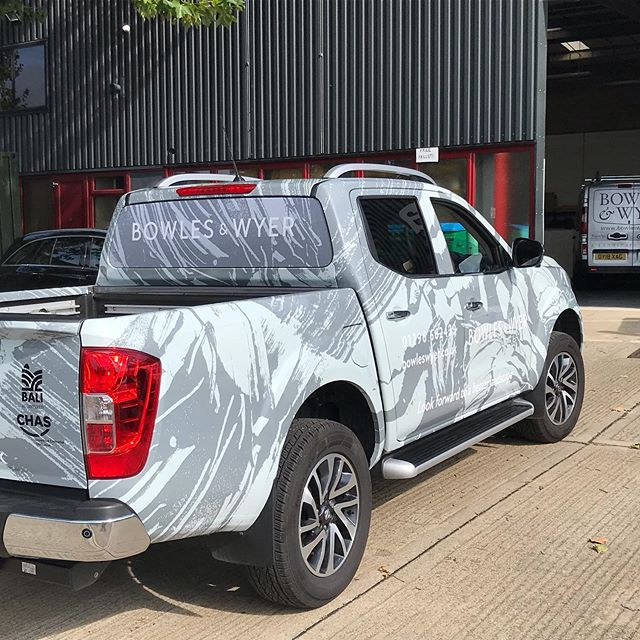 #bowlesandwyer #vehiclewraps finished article!!