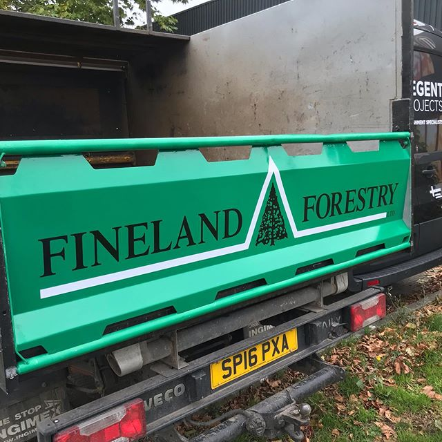 Some additional vehicle branding elements carried out  #manorsigns #vehiclegraphics #vehiclewrap
