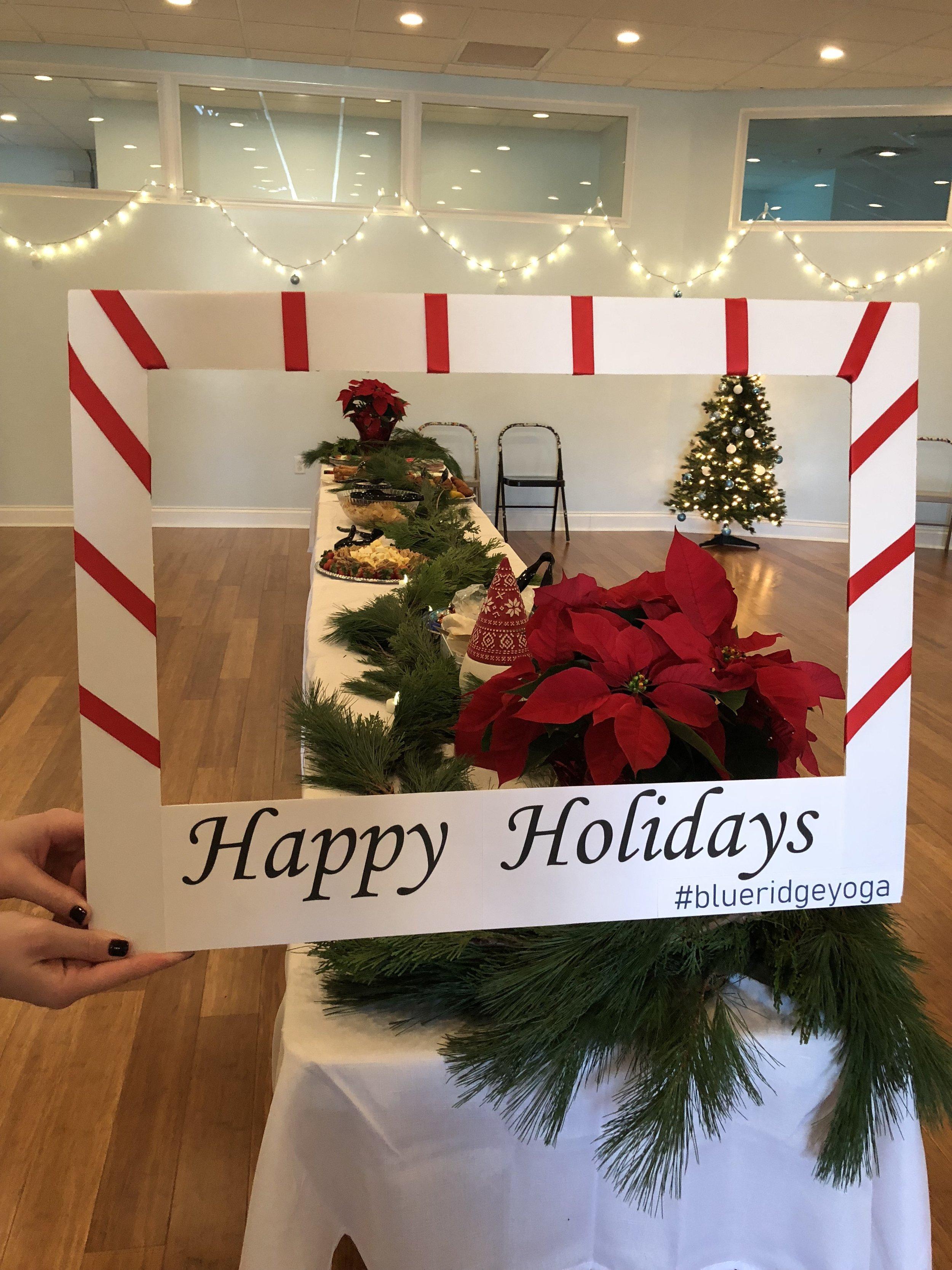 Blue Ridge Yoga Christmas