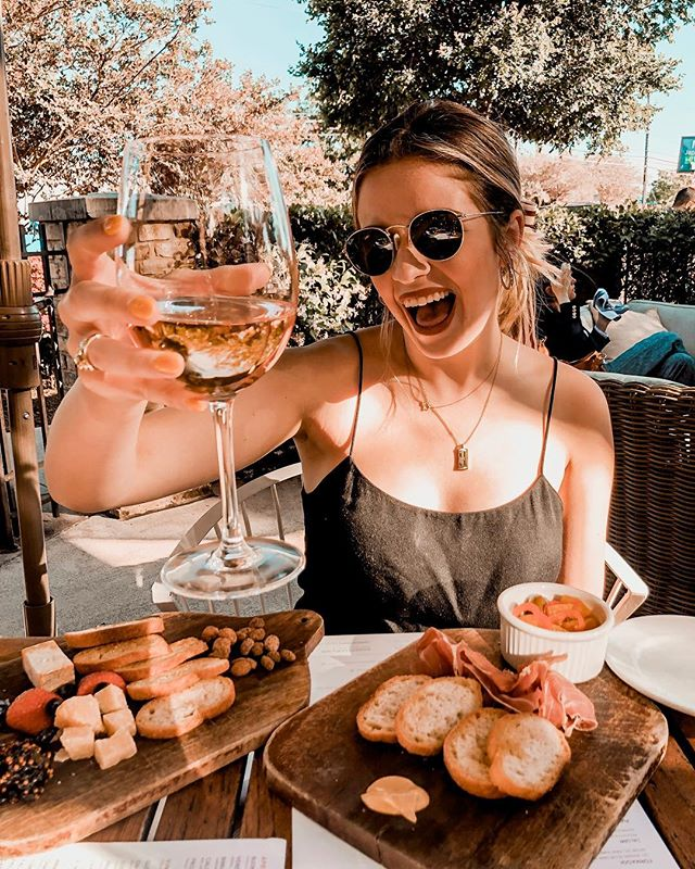 it's a rosé and cheese board out on the patio kind of weekend