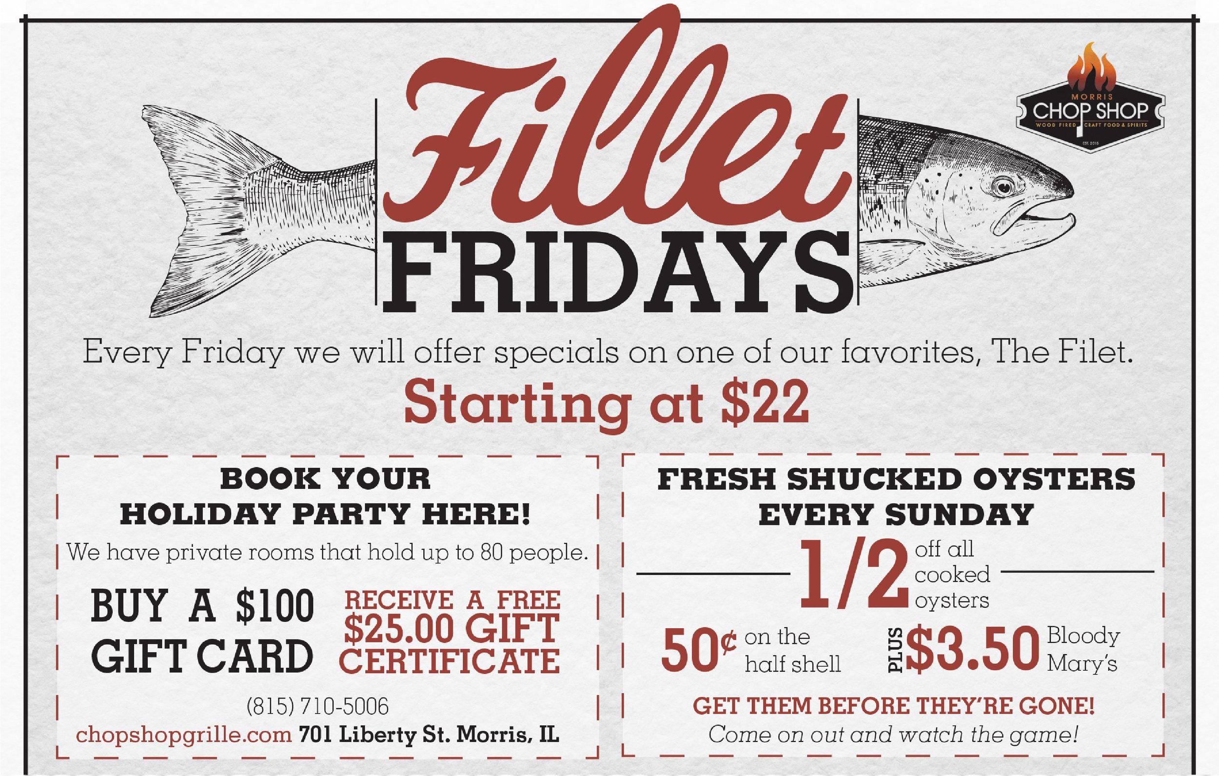 Fillet Friday -