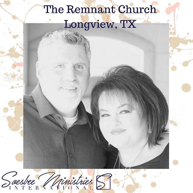 We are excited to be with Pastors Rusty and Anna Brady in Longview, TX at The Remnant Church! Service times include tonight at 7pm, tomorrow also 7pm, and 10am on Sunday! Expecting great things! #SMI #YouKnowHim #Momentum