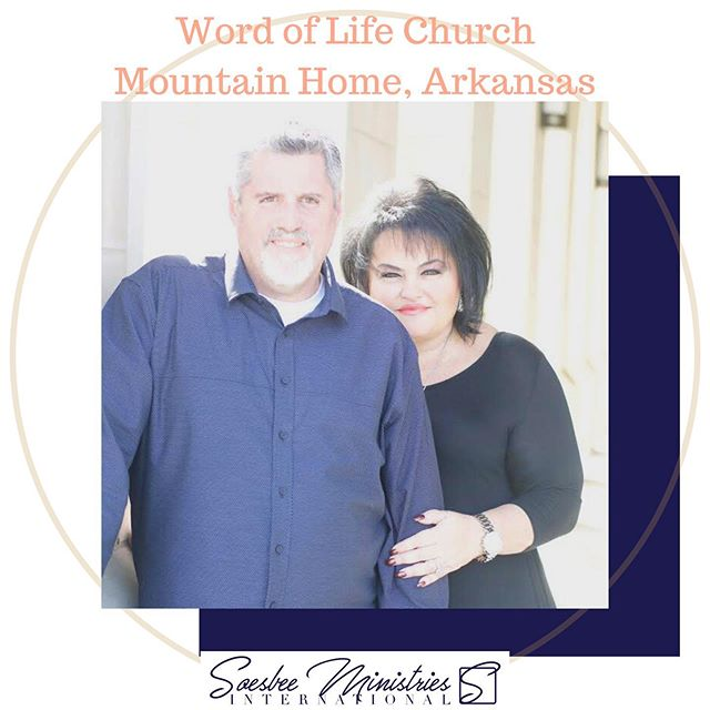 Excited to be with Pastors Greg and Sara Ford this weekend at Word of Life Church in Mountain Home, Arkansas!! Service times are Saturday night, the 20th, at 6pm and Sunday morning at 10am! If you're in the area, come on by!