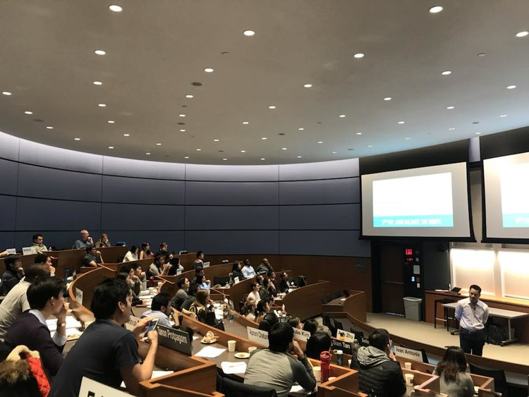 THE TECH CLUB HOSTS EVENTS FOCUSED ON CAREER DEVELOPMENT — HERE, THE GROUP CONVENES FOR A PRODUCT MANAGEMENT CASE INTERVIEW WORKSHOP