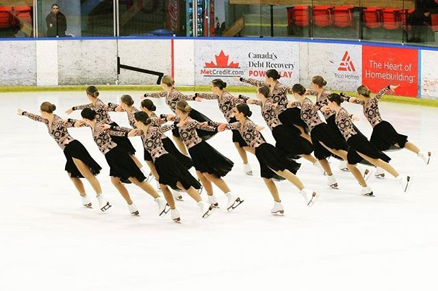 A successful team beats with one heart. ⛸️❤️⛸️❤️⛸️❤️ Calgary Synchronized Skating Club (CSSC) - (📷: @csscblackgold)