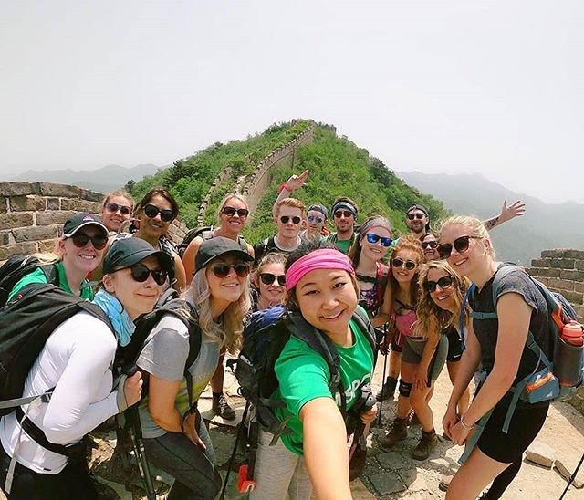 Travel the world and make a difference. Give back on your next adventure. ❤️ KPMG NSPCC Great Wall of China Trek presents a thrilling challenge of twists, turns, ups and downs while raising vital funds for NSPCC. (📷: @jessleung1 - https://www.justgiving.com/fundraising/jleung)