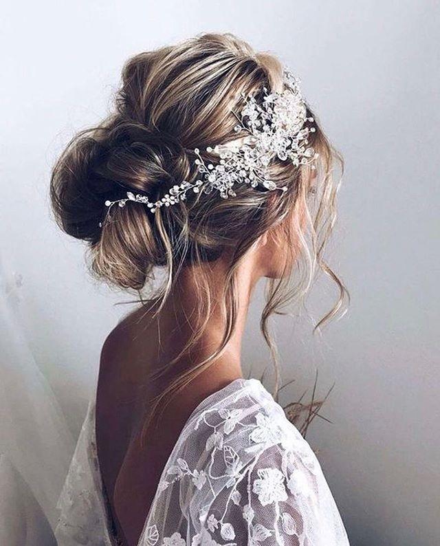 For stunning romantic wedding hair like this head to @gogorgeousbristol