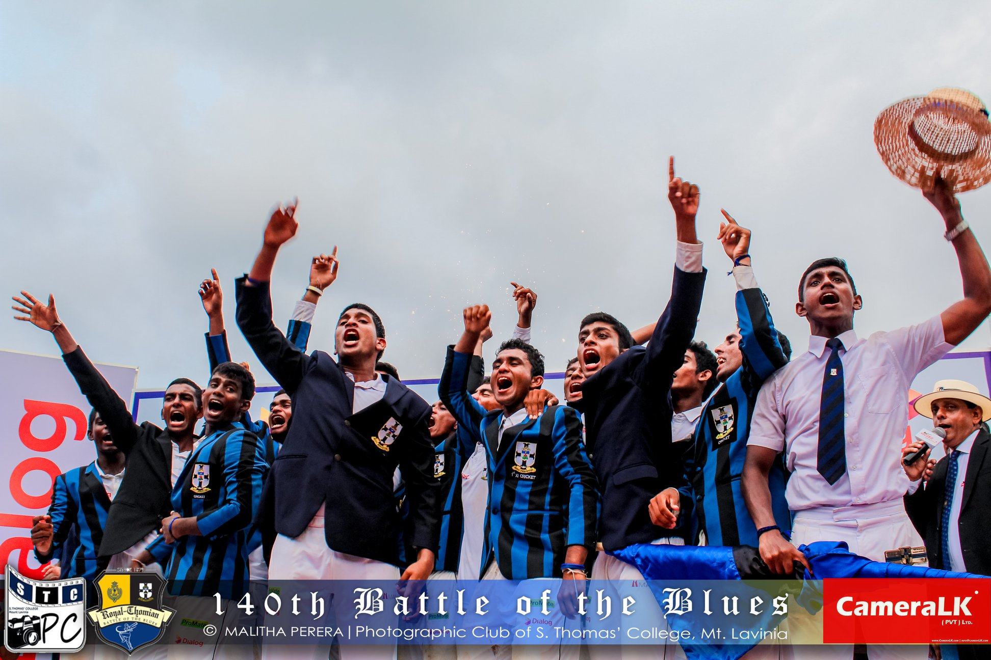 Image (& main image) : Battle of the Blues - S.Thomas' Photographic Club