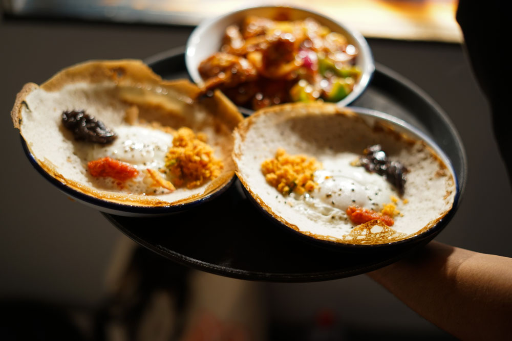 Image: TCT-Style Sri Lankan Street Food ~ Hopper