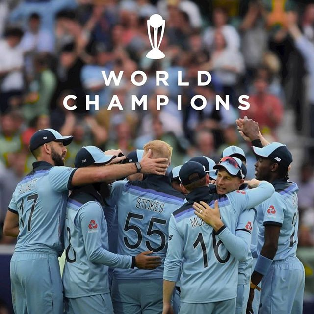If it couldn't be Sri Lanka, it had to be England!!! 🏴󠁧󠁢󠁥󠁮󠁧󠁿🏆🏏 . . . 📷 @englandcricket  #iccworldcup2019 #champions #yesengland #englandwin #cricketchampions #whatagame #tctlovescricket #destinationtct