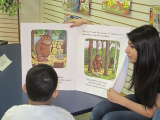 The Gruffalo  by Julia Donaldson is a favourite at Leaders for Readers and is almost always mentioned during sharing time.