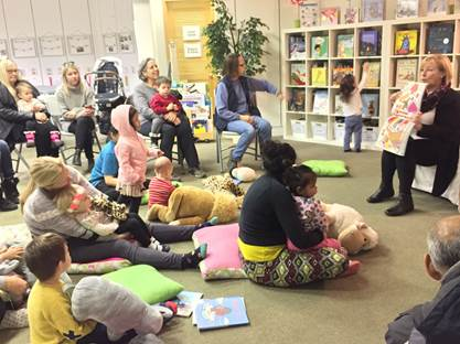 Wee Readers - 0 to 3 year-oldTuesdays and Thursdays 10:00 to 11