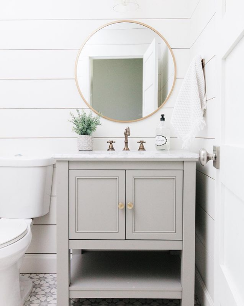 Lindsey Grace Interiors Favorite Powder Bathrooms