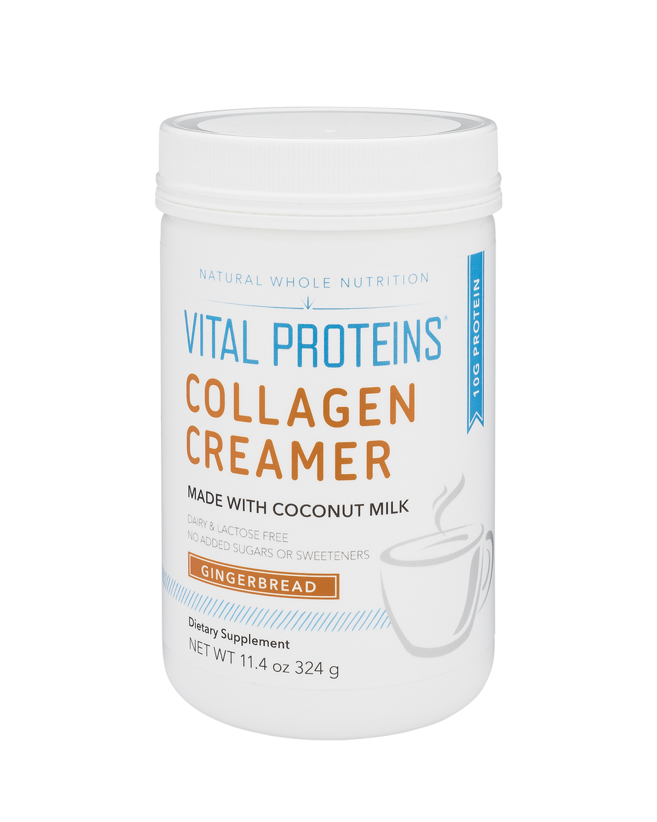 Gingerbread Collagen Creamer